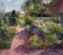 Утро в саду
