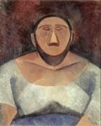 Крестьянка - Пикассо, Пабло