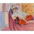 Лежащая женщина - Матисс, Анри