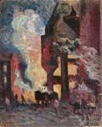 Большая печь, 1896-99 - Люс, Максимильен