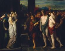 Принесение в жертву Пилада и Ореста перед Ифигенией - Уэст, Бенжамин