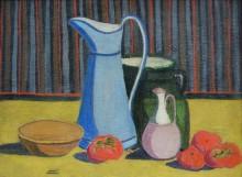 Натюрморт с голубым кувшином - Вердилан, Луи-Матье