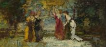 Сюжетная композиция (1) - Монтичелли, Адольф