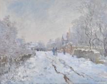 Снега в Аржантее - Моне, Клод