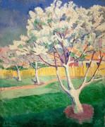 Яблоня в цвету - Малевич, Казимир