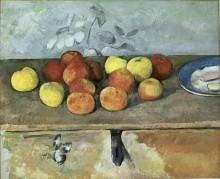 Яблоки и печенье - Сезанн, Поль