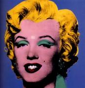 Синяя Мэрилин (Photo Bleue de Marilyn),  1964 - Уорхол, Энди