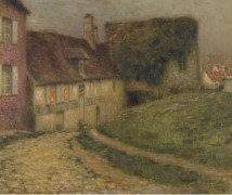 Старые дома, 1903 - Сиданэ, Анри Эжен Огюстен Ле
