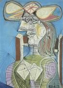 Сидящая женщина (Дора) - Пикассо, Пабло