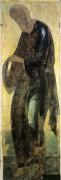Деисусный чин (Владимир, Успенский собор, 1408) 8. Св.Андрей Первозванный - Рублев, Андрей