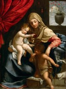 Мадонна с Младенцем и маленьким Иоанном Крестителем - Рени, Гвидо