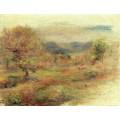 Пейзаж в красных тонах, 1900-10 - Ренуар, Пьер Огюст