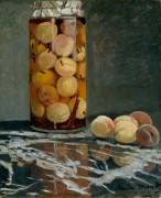 Банка с консервированными персиками - Моне, Клод
