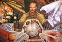 Человек, управляющий Вселенной, 1934 - Ривера, Диего