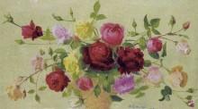Букет роз, 1918 - Ложе,  Ашиль
