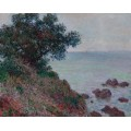 Побережье, пасмурная  погода , 1888 - Моне, Клод