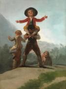 Великаны - Гойя, Франсиско Хосе де