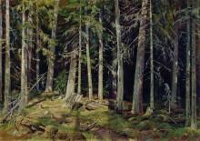 Лес, 1888 - Шишкин, Иван Иванович