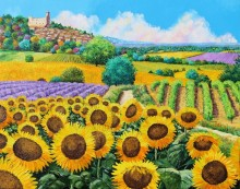 Цветущие поля - Жаньячик, Жан-Марк (20 век)
