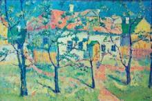 Весенний сад в цвету - Малевич, Казимир