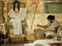 Иосиф, смотритель зернохранилищ Фараона - Альма-Тадема, Лоуренс