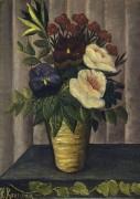 Натюрморт с цветами - Руссо, Анри