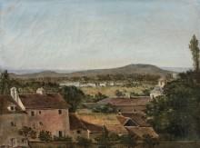 Пейзаж в долине Сены - Руссо, Теодор