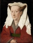 Портрет Маргареты Ван Эйк. 1439 - Эйк, Ян ван