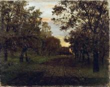 Дорога в лесу. 1881 - Левитан, Исаак Ильич