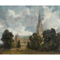 Вид а собор в Солсбери с юго-запада - Констебль, Джон