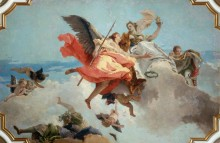 Триумф Добродетели и Благородства над Невежеством - Тьеполо, Джованни Баттиста