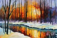 Зимнее солнце - Афремов, Леонид (20 век)