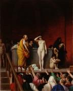 Рынок рабов в Риме - Жером, Жан-Леон