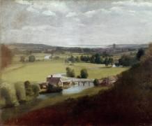 Вид на Дедем в долине реки Стур - Констебль, Джон