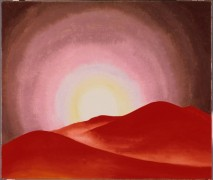Красные холмы, Лейк Джордж - О'Кифф, Джорджия