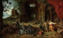 Аллегория огня (Венера в кузнице Вулкана) - Брейгель, Ян (младший)