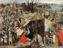 Поклонение волхвов - Брейгель, Питер (Младший)