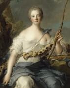 Маркиза де Помпадур. 1746 - Натье, Жан-Марк