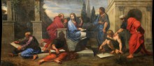 Аспасия в окружении греческих философов - Корнель, Мишель Младший