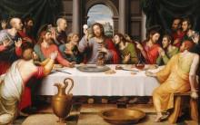 Тайная вечеря, 1562. - Хуанес, Хуан Де
