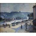 Причалы в Руане, 1883 - Писсарро, Камиль