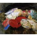 Веера и предметы, 1885 - Энсор, Джеймс