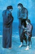 Нищие  на берегу моря, 1903 - Пикассо, Пабло