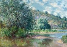 Пейзаж в Порт-Вилле, 1885 - Моне, Клод