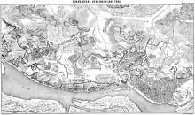 План Киева. 18 век.