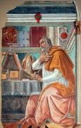 Святой Августин - Боттичелли, Сандро