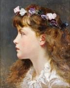 Девочка с венком из цветов - Андерсон, Софи