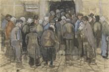 The Poor and Money, 1882 - Гог, Винсент ван