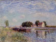 Канал Луа в Сен-Мамме, 1885 - Сислей, Альфред
