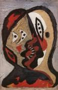 Лица на синем, 1926 - Пикассо, Пабло